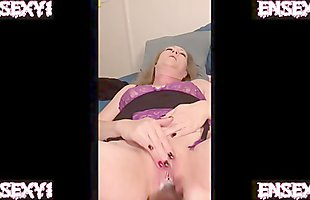 ENSEXY1: Wife Takes First Big Black Cock Dildo (She Loves It! Raw Edit)