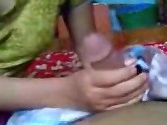 Desi Aunty Sucking Son's Teacher Dick