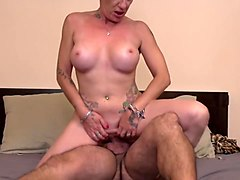 modern mature mother takes young big cock