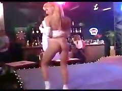 Tami monroe striptease in frilly socks and heels
