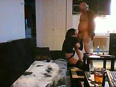 Amateur old man fucks cd sissy