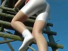 sexy ass in white spandex part 1 hd 790 pt justporn tv