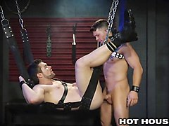 hothouse hunks throating cock and orgasmic anal