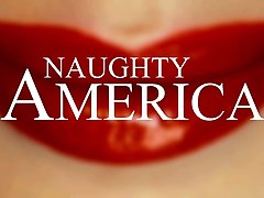 cherie deville takes cock with creampie - naughty america