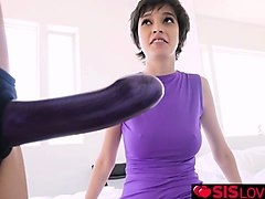 eden arias twat doggy fuck by olivia lua with a dildo
