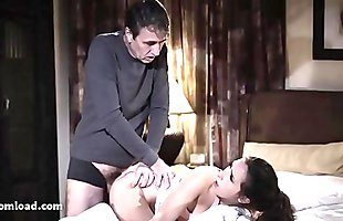 Daddy'_s little princess is nothing but a filthy whore