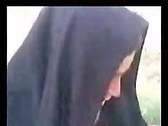 arab hijab outside