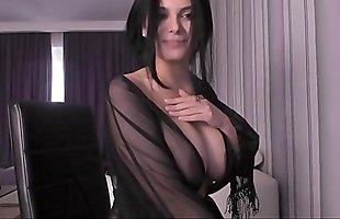 Hot girl fucks her ass webcam Sofia Beauty girl tease pussy with finger on webcam