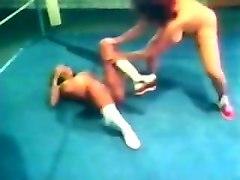 big boob retro wrestling
