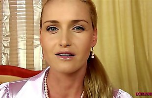 Mommy fulfil your sexual desires my little son! PART 1 with Kathia Nobili