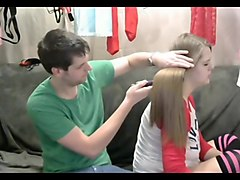 Silky hair pulling and brushing  long hair  hair 2
