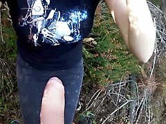 Polish Girl Blowjob in the Forest - I met her on SexNumerki