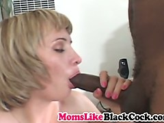 big cocked black guy makes black milf moan from pleasure
