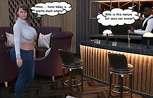 3D Comic Mature Big Ass Wife Fucks BBC Behind Husbands Back