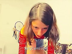 cute teen slut dances for daddi jordach