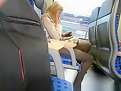 Guy masturbation in train on different occasions