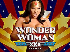 Romi Rain & Charles Dera in Wonder Woman: A XXX Parody - Brazzers