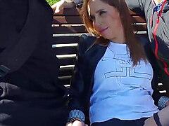 Malena, Christian and Nacho Vidal fuck around in Rimini