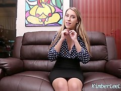 teen kimber lee sucks & fucks cop to get away!