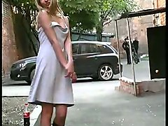 one of the hottest amateur russian girls is an exhibitionist