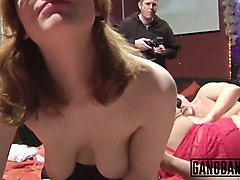 horny couples start giant couple swapping orgy