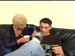 Sexy German Mom Fucked And Facialized