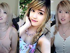 asian, jerk, jerk off challenge, compilation, hd
