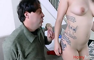 FUCKING DAUGHTER WHILE WIFEY SLEEPs