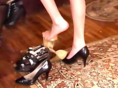 nylons, footing, latex, worship, russian