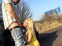 Krass - Arschfick an der Autobahn