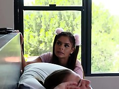 Katya Rodriguez learns how touse condom