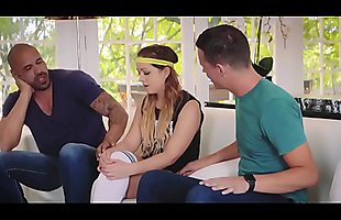 Cleo Vixen In Threesome with Coach and BF