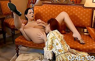 Babes satisfy sexual desires of their wicked hot girlfriend