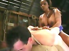 black women loves to dominate and peg his white slave ass