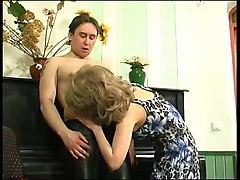 the lesson of piano