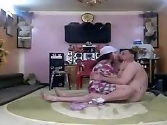 fat iraqi couple