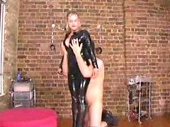 rubber mistress fucks